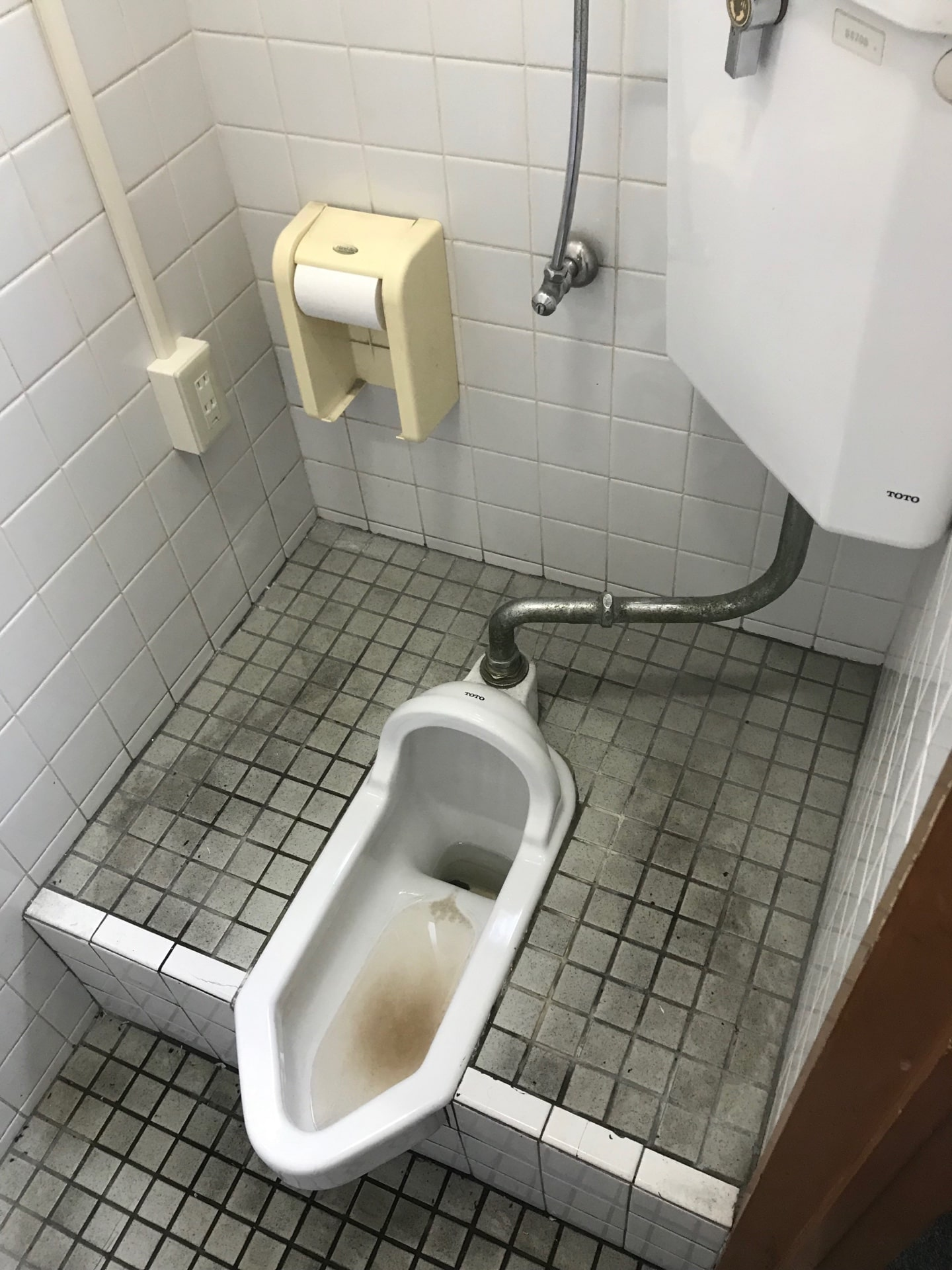 和式トイレ(施工前)