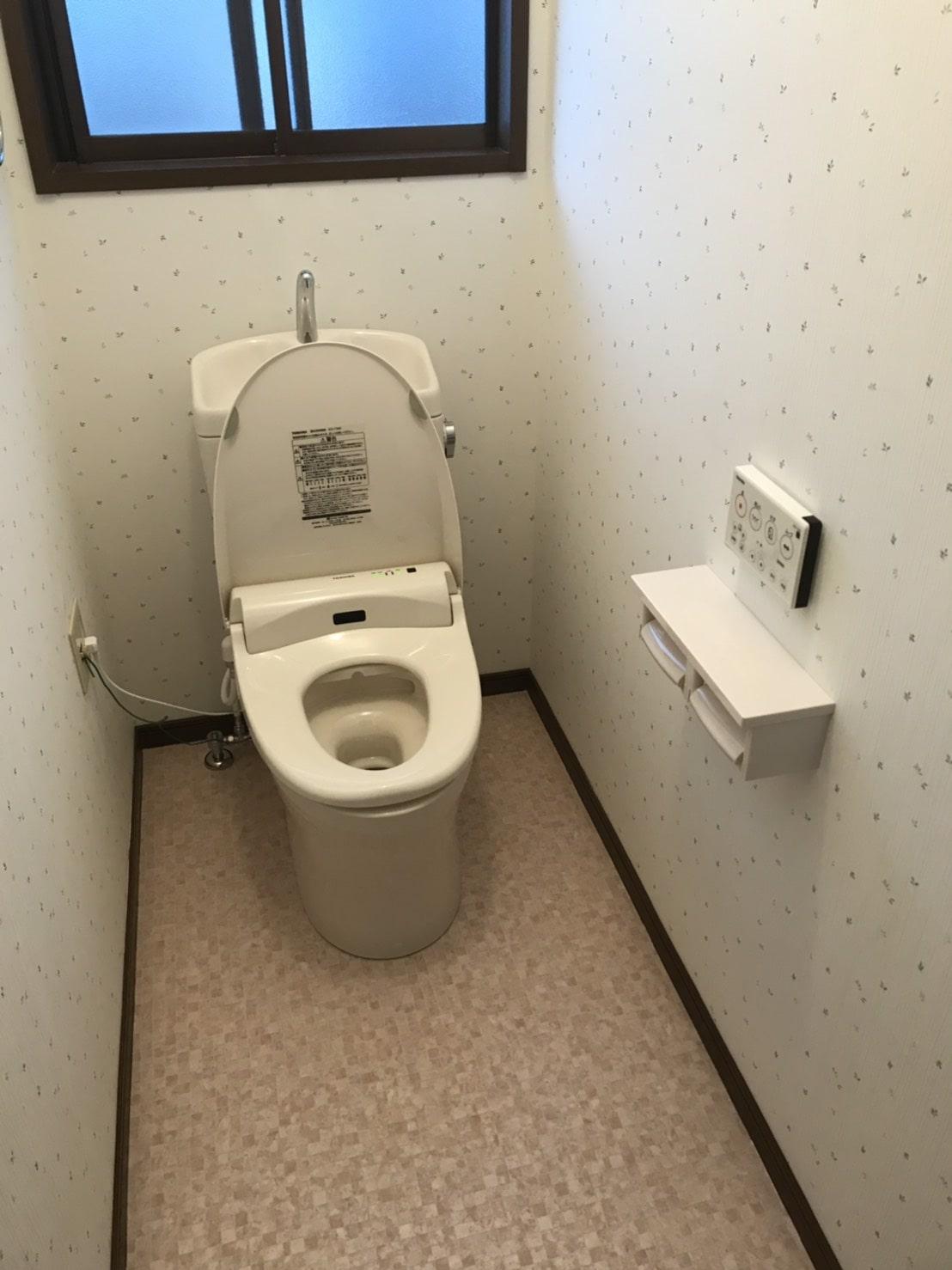 洋式トイレ交換(施工後)